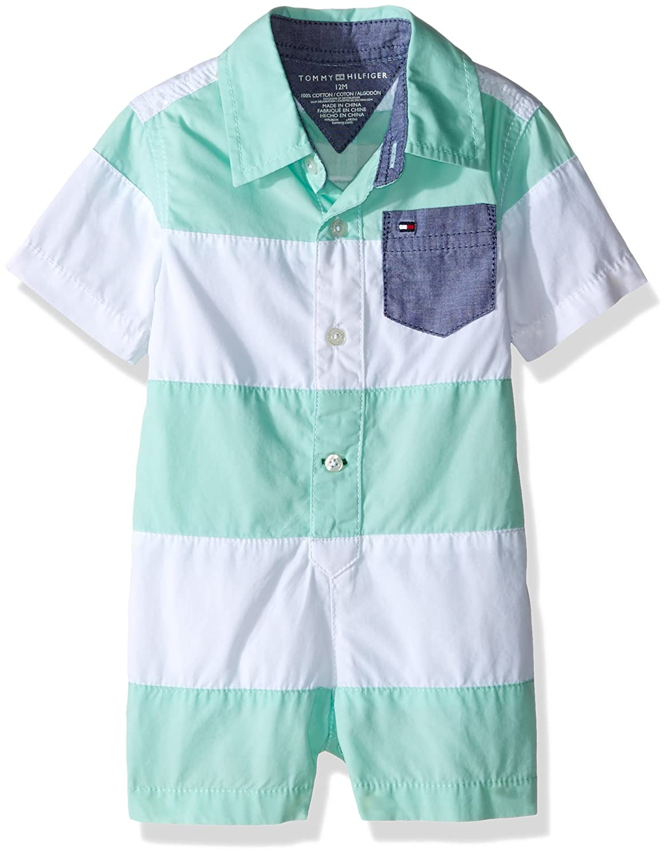 Amazon.com: Tommy Hilfiger Baby Boys\' Romper: Clothing