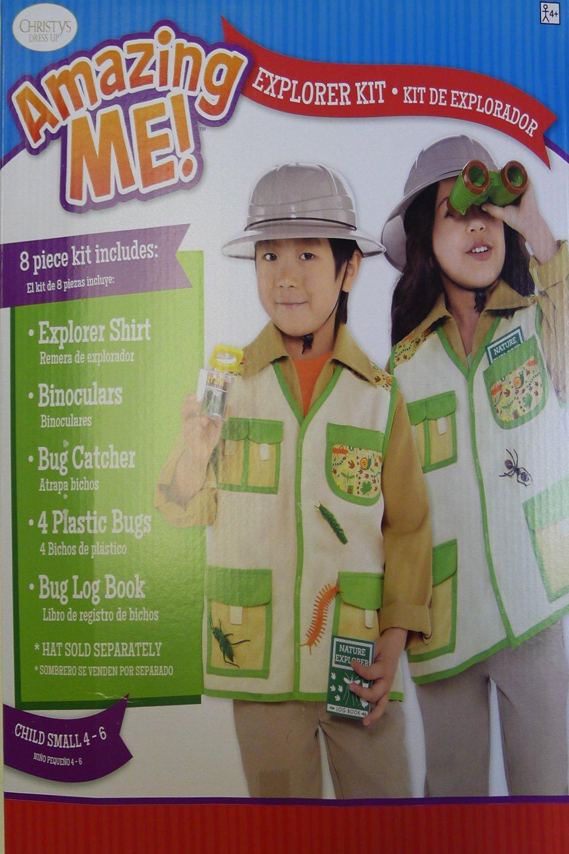Explorer Kit Kids Fancy Dress Safari Jungle Zoo Keeper Boys Girls Childs  Costume  Amazon.co.uk  Toys   Games 88f2fb49fdd