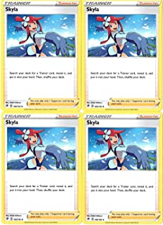 product image for Pokemon - Skyla - Rebel Clash x4 Card Playset - 166/192 Uncommon