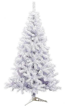 25a62959c0836 Árbol de Navidad Artificial árboles C Soporte plástico 120-210cm (Blanco