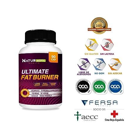 ULTIMATE FAT BURNER – Quemagrasas | Termogénico | Reductor y Saciante del Apetito | Estimulante del Metabolismo | Fórmula Adelgazante Exclusiva y ...
