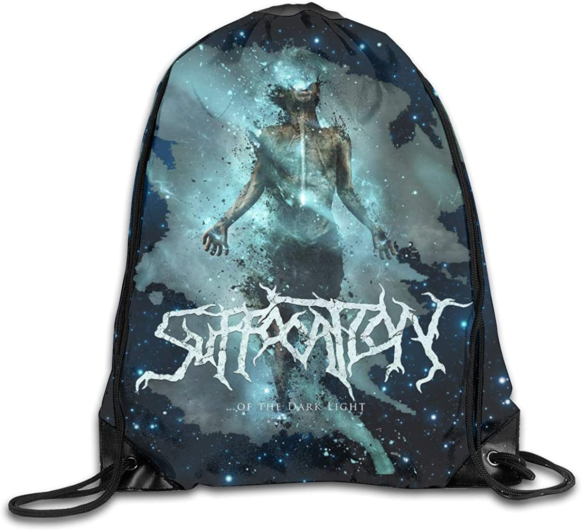 CAOI UUC Suffocation Gym Drawstring Backpack Shoulder Bags