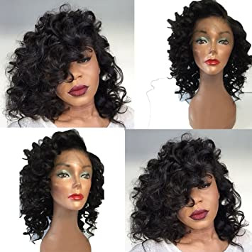 Amazon Com Earical Hair Brazilian Virgin Human Hair Lace Front Wig