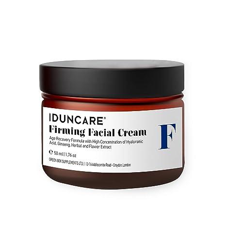 Iduncare Crema Facial Reafirmante - Crema de Cara Antiedad con Vitamina C & Ácido Hialurónico -