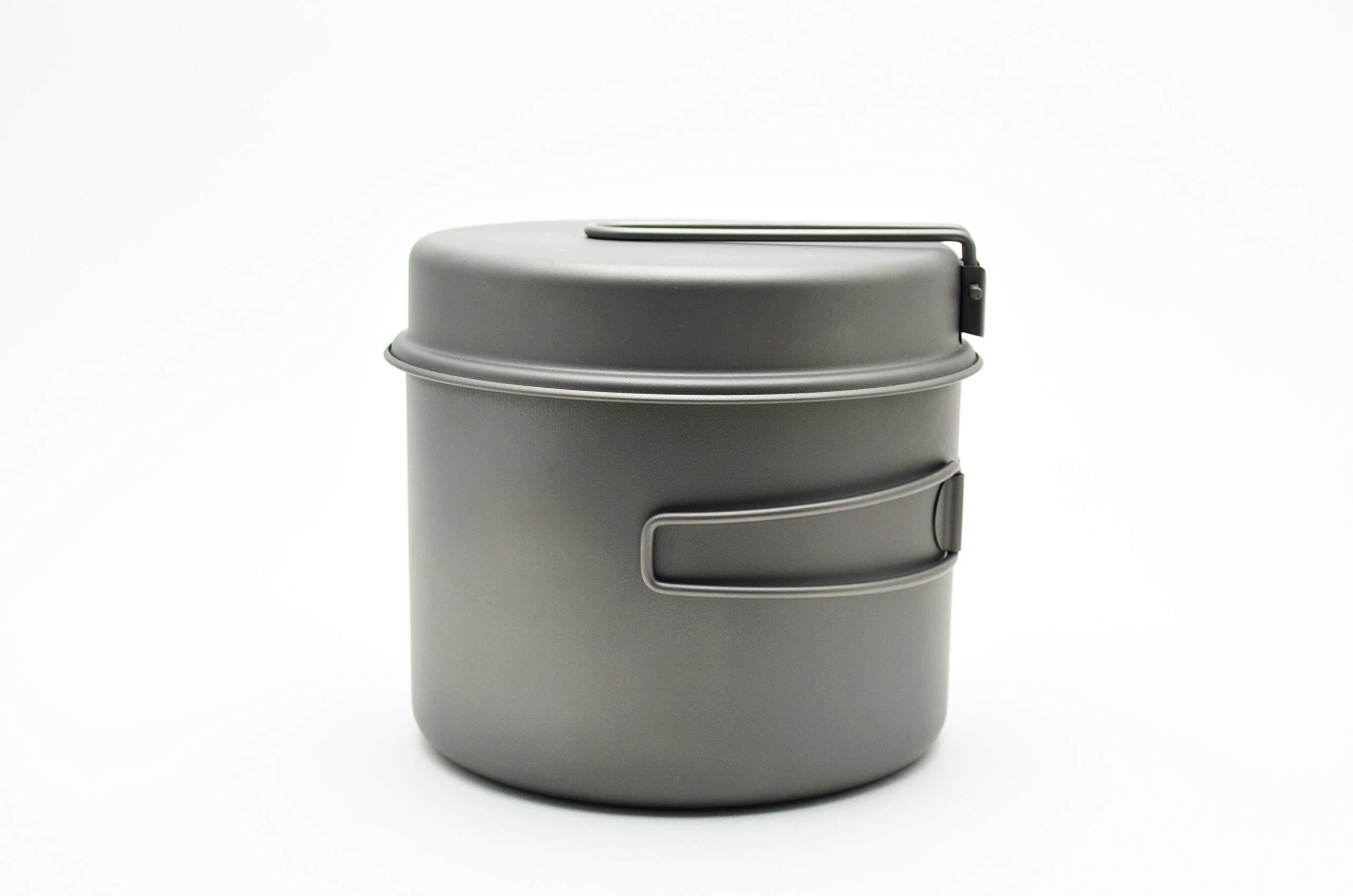 TOAKS Titanium 1600ml Pot with Pan by TOAKS