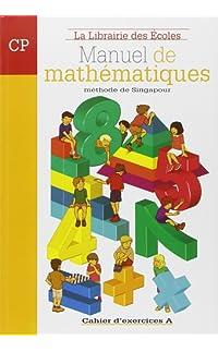 manuel de mathématiques cp : cahier d'exercices a - broché