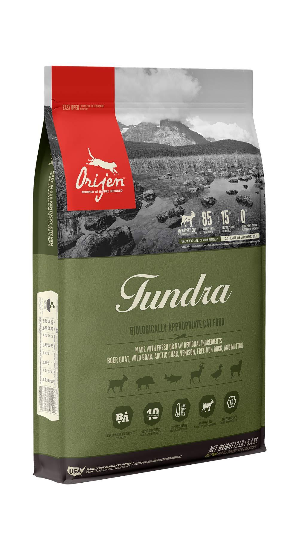ORIJEN Dry Cat Food, Tundra, Biologically Appropriate & Grain Free by Orijen