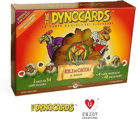 The Dynocards Le Carte Da Gioco Dei Dinosauri E Il Nuovo Gioco Kilo