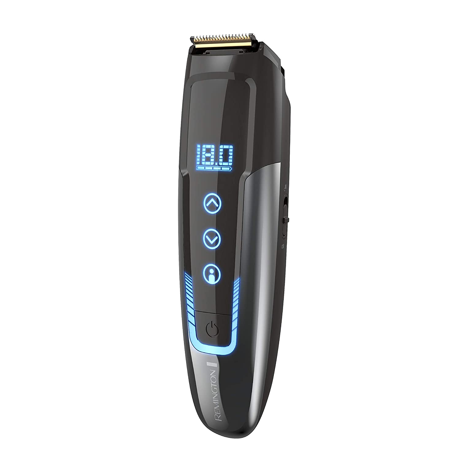 Remington MB4700 Smart Beard Trimmer with Memory Settings and Digital Touch Screen, Rechargeable for Cordless Use