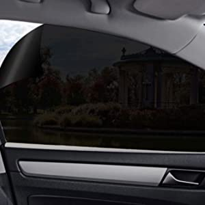 Gila Static Cling 5% VLT Automotive Window Tint DIY Easy Install Glare Control Privacy 2ft x 6.5ft (24in x 78in)