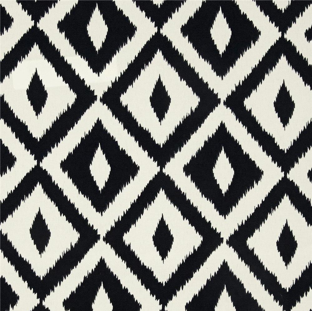 Set of 4 Indoor Outdoor Square Decorative Throw Pillows, Made of Tommy Bahama Fabric- Swaying Palms Green Tropical Palm Leaf Fabric & Black White Aztec Geometric, Choose Size (20'' x 20'')