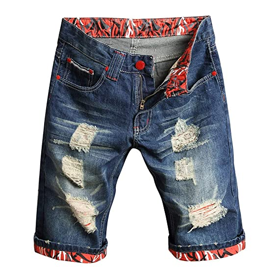 Los Nuevos Pantalones Vaqueros Huecos De La Moda De Verano ...