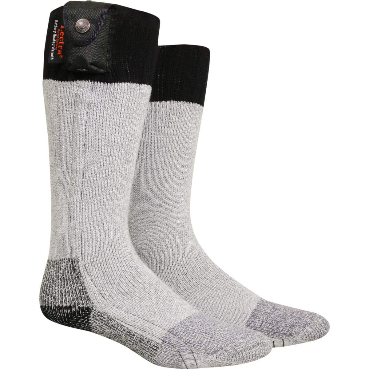 Nordic Gear Unisex Lectra Sox-Electric Battery Heated Socks - X-Small/Small - Black by Turtle Fur