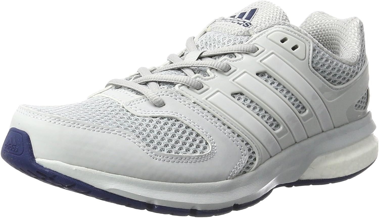 adidas Questar - Zapatillas de Entrenamiento Hombre, Gris (Clear Grey/ftwr White/mystery Blue), 40 2/3 EU: Amazon.es: Zapatos y complementos