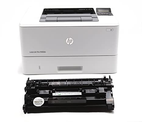 Amazon.com: Renovables Toner M402 N Micr Check Printer del ...