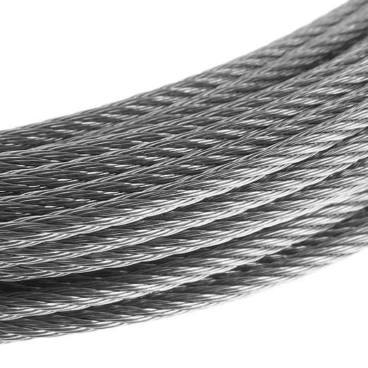 Cable de Acero Inoxidable de 6,0 mm en Bobina de 25 m BeMatik