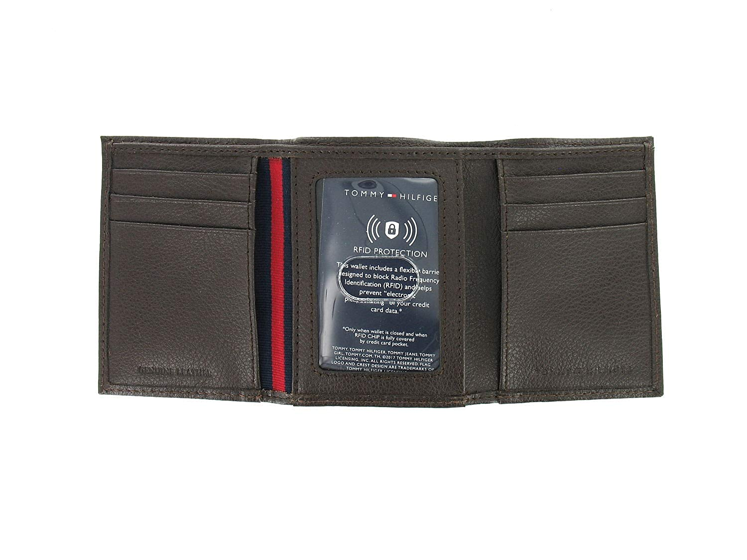 on sale fashion styles store Tommy Hilfiger Men's RFID Protected Tri-Fold Wallet 3-Fold ...