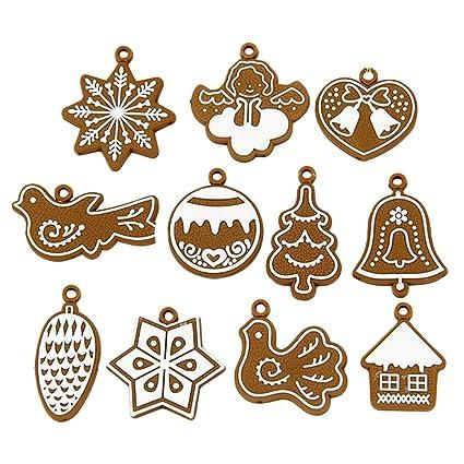 Arcilla del polímero Fimo Árbol de Navidad adornos Navidad fiesta casa decoración de Navidad
