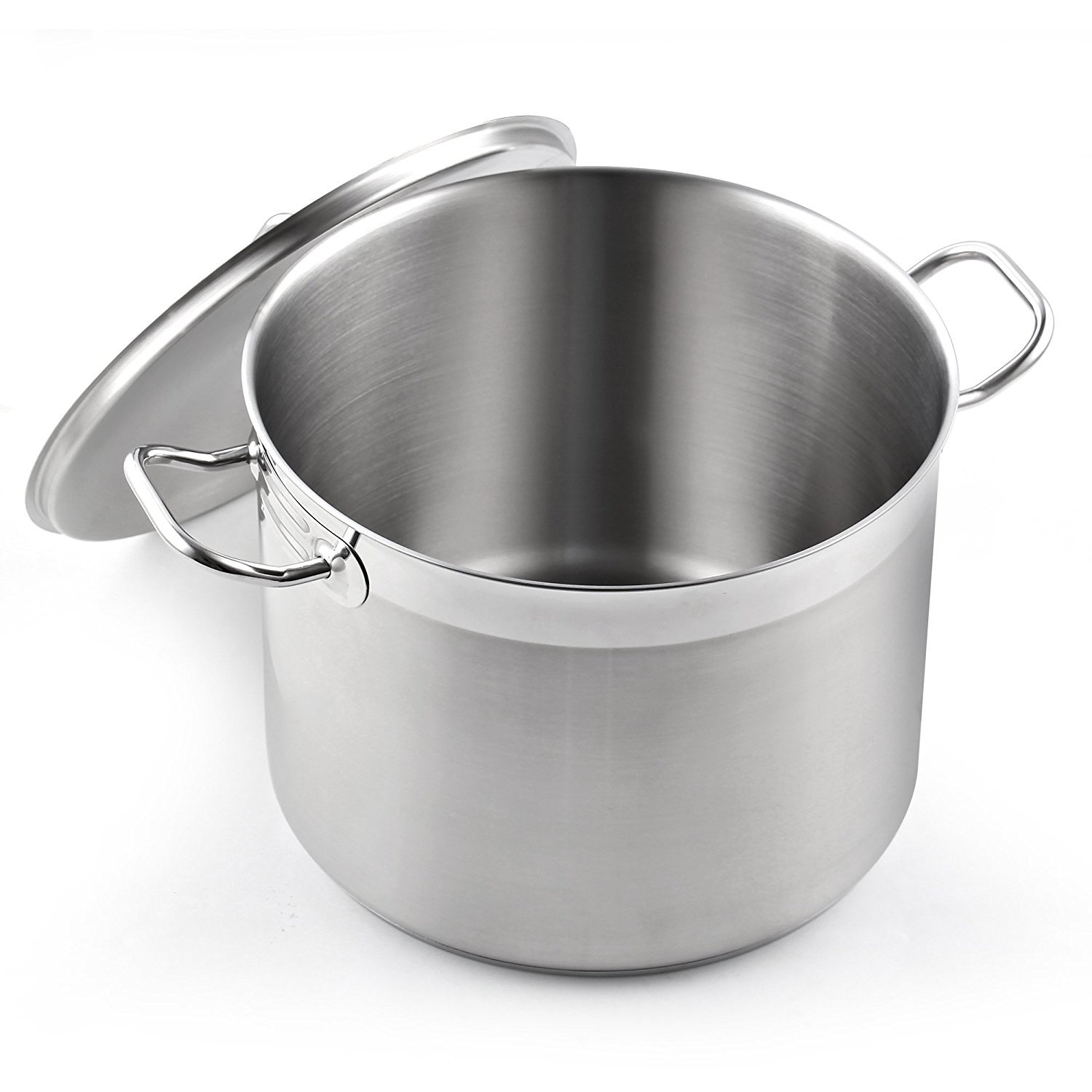 Cooks Standard 02584 Classic Lid 8-Quart Stainless Steel Stockpot Silver