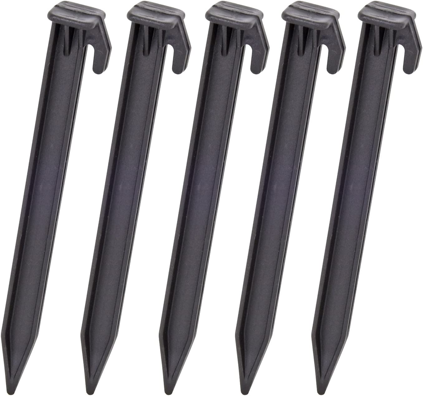 Black Colour 5 in a Pack VOSS.farming Electric Fence Netting Spikes 15cm