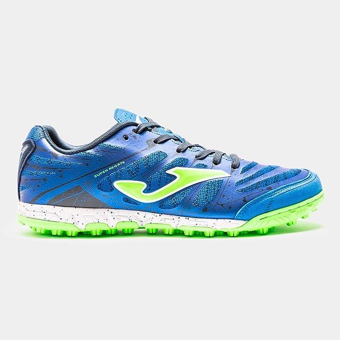 Joma Sport Super Regate 904 Turf - Zapatillas Deportivas Azul Size: 43.5 EU: Amazon.es: Zapatos y complementos