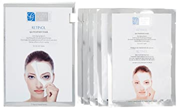 Facial masks with retinol