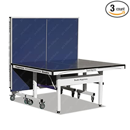 Tu0026R Sports Double Happiness 1 Inch Table Tennis Table Ping Pong Table  W/Free Accessory
