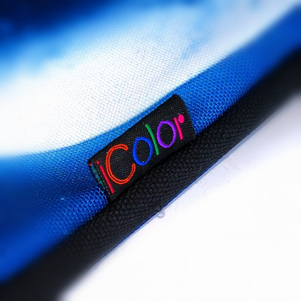iColor 15'' Canvas Laptop Shoulder Messenger Bags 14'' 15.4 Inch Briefcase 15.6'' Computer PC Notebook Tablet Handle Cases Carrying Sleeve Cover Holder (14''~15.6'', Cool Wolf) by iColor (Image #4)
