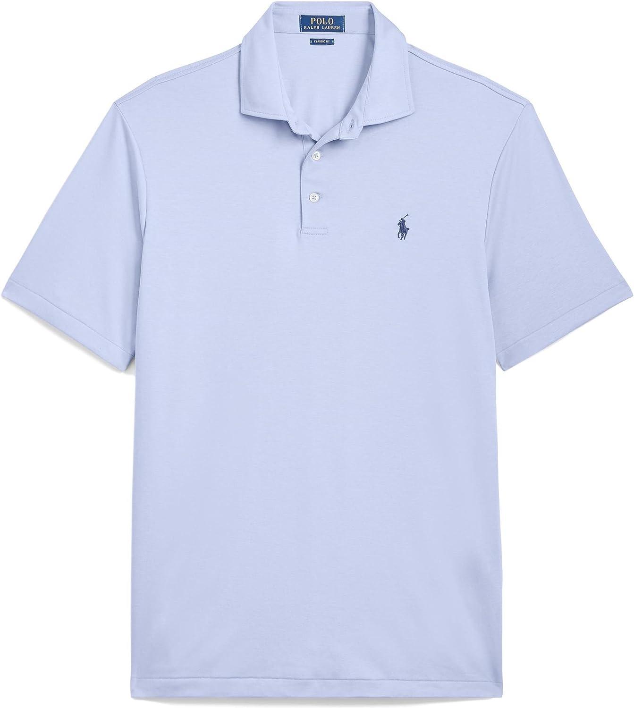 Polo Ralph Lauren Classic Fit Soft-Touch (Austin Blue, L)