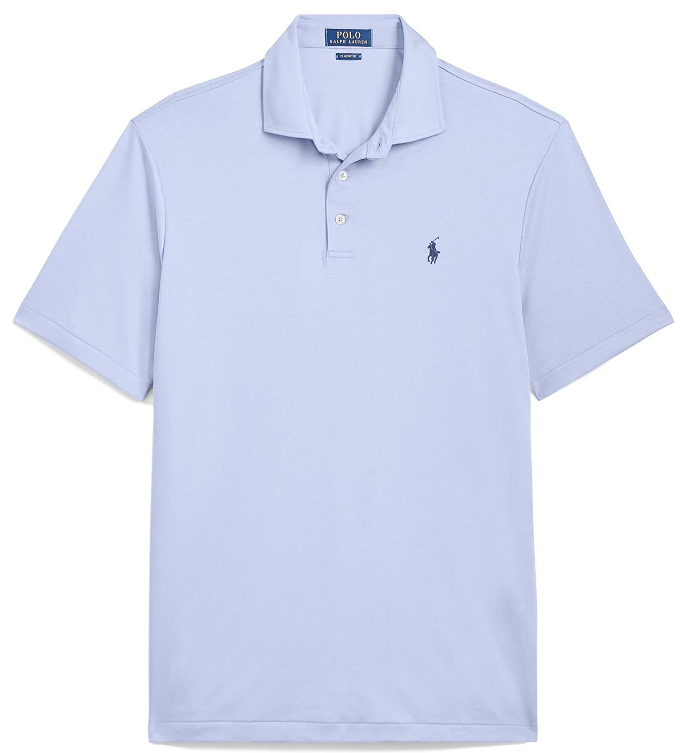 fbc5308e Ralph Lauren Polo Classic Fit Soft-Touch (Austin Blue, XL) at Amazon Men's  Clothing store: