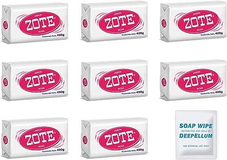 Zote - Juego de 2 jabones para lavandería, quitamanchas ...