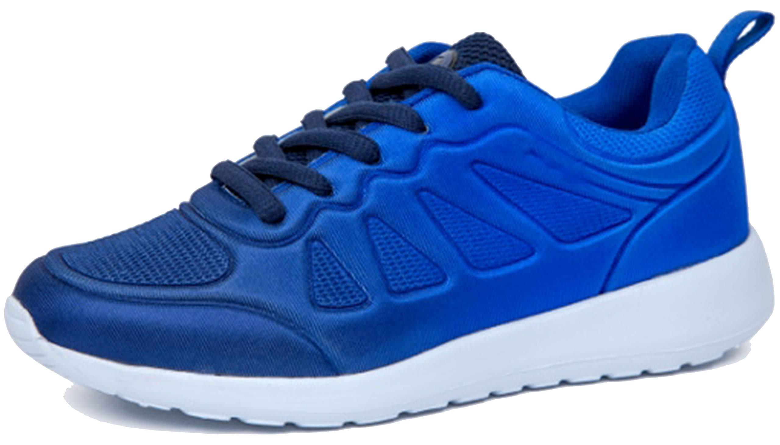 Kids Athletic Tennis Shoes - Little Kid Sneakers with Girl and Boy Sizes Royal Blue by Gimbo Kids