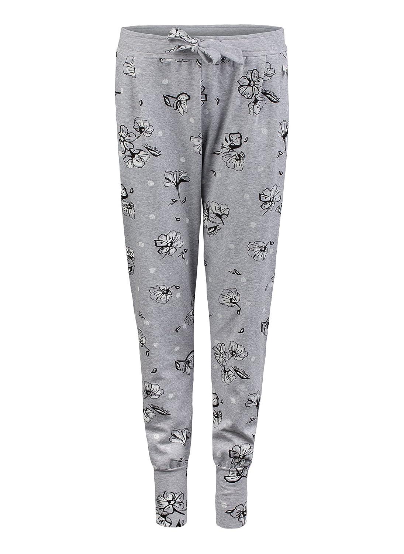 Short Stories Pants Long Pantalones de Pijama para Mujer