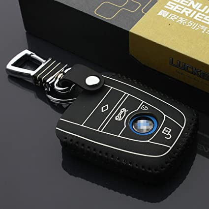 Amazon Com Genuine Leather Car Key Case For Bmw I3 I8 2014 2016
