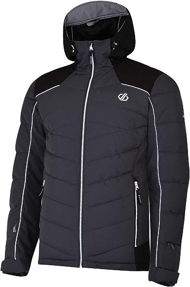 Dare2b Mens Ski Jacket Input Wind Waterproof Ski Padded Insulated Winter Hoodie