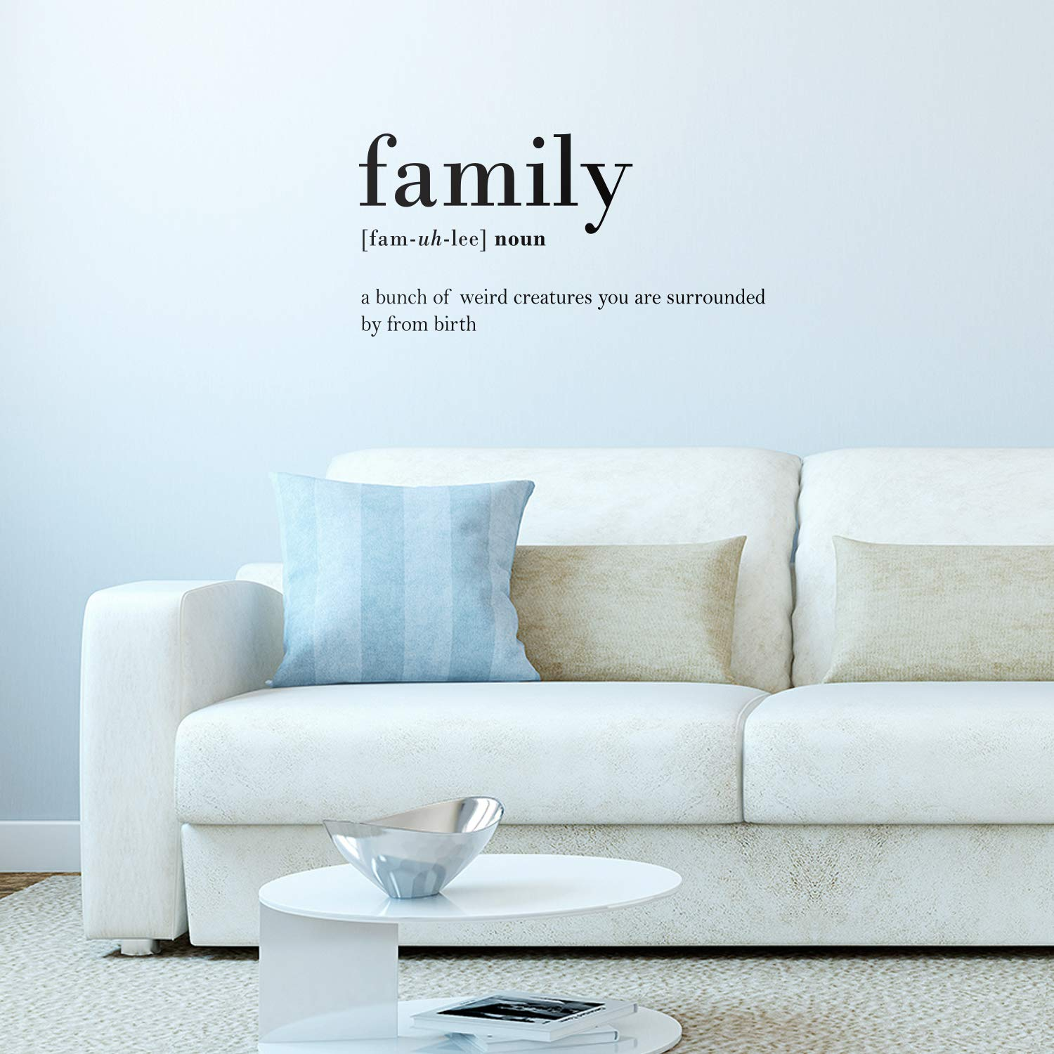 Amazoncom Vinyl Wall Art Decal Family Definition 15 X