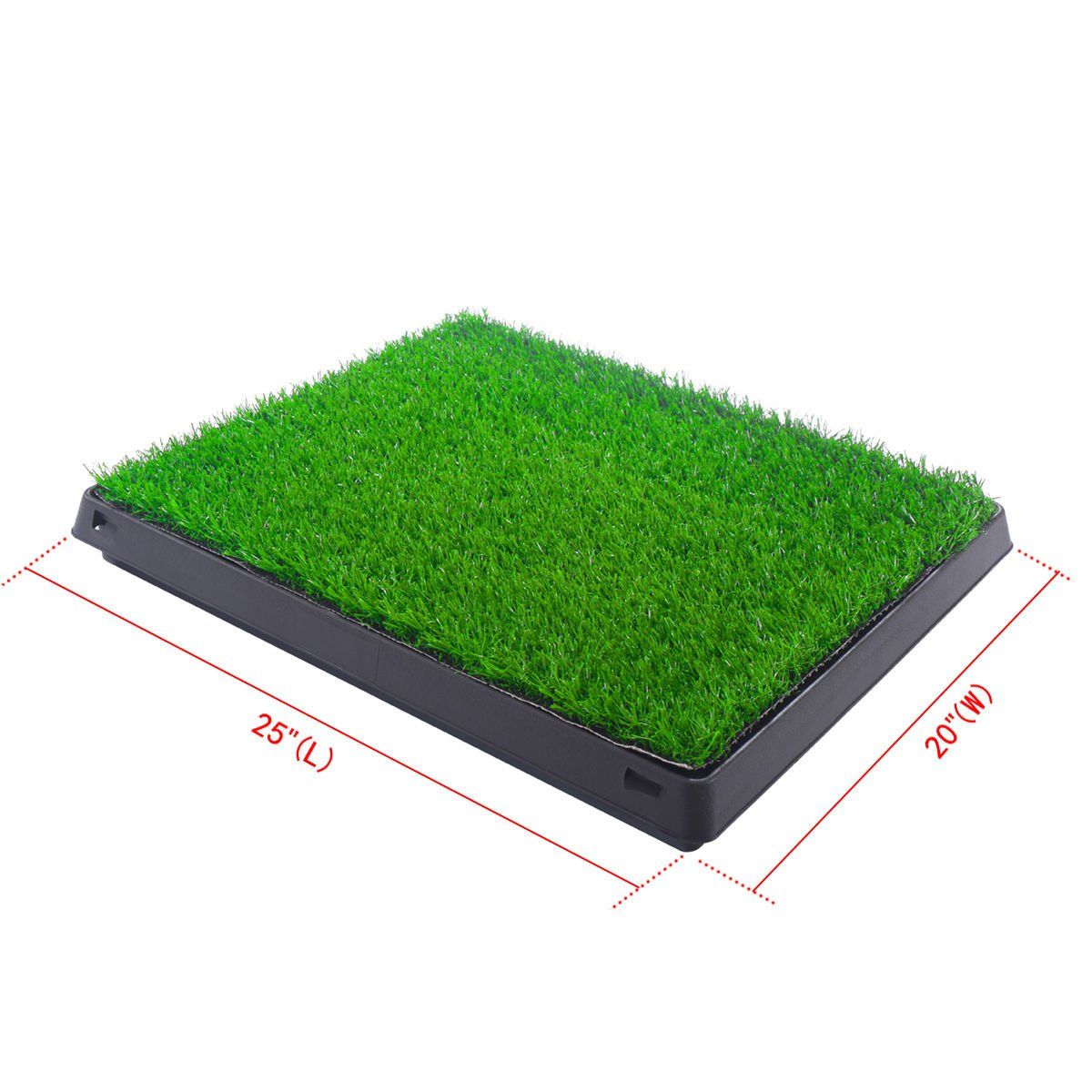 Training Pads Indoor Puppy forage training sniffer Pet Potty Training Indoor Pad Mat Turf Patch Green