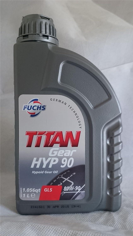 Fuchs TITAN Gear HYP 90 Hypoid Gear Oil 80W-90 1 Litre