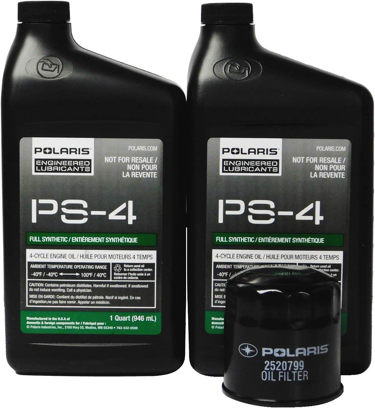 Amazon Com Polaris Sportsman X2 570 Eps Oem Oil Change Kit 2877473 Automotive