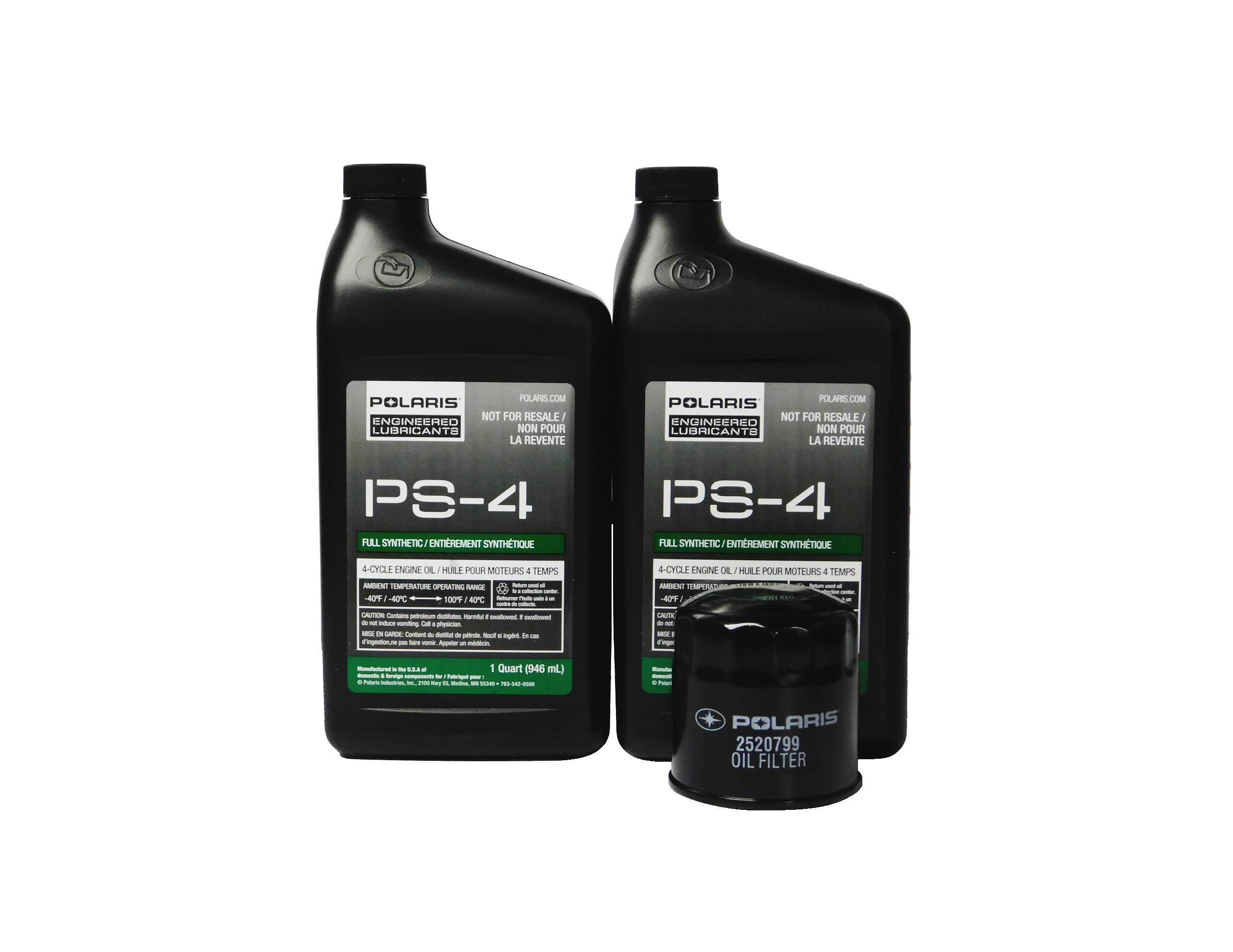 Polaris Sportsman 450 EPS Utility OEM Oil Change Kit 2877473 by Powersports Authority