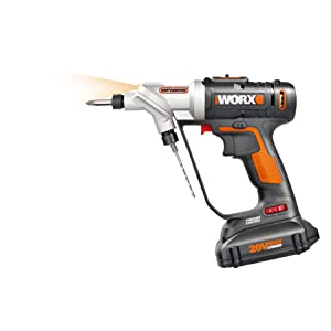 WORX Switchdriver 2-in-1 Cordless Drill and Driver – WX176L