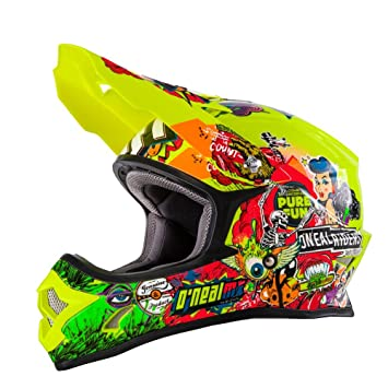 Casco Mx Oneal 2018 3Series Crank Neon Amarillo (Xl , Amarillo)