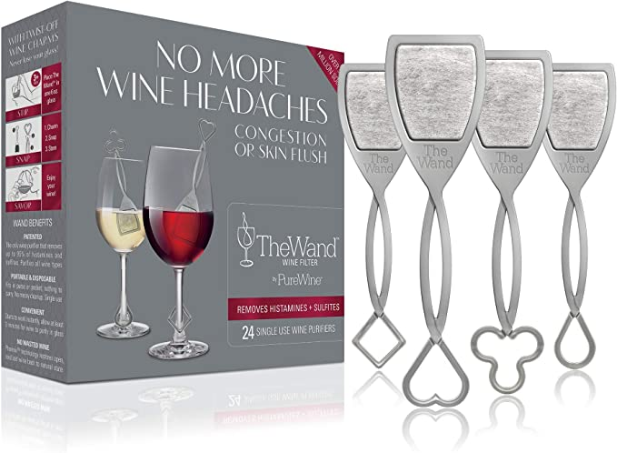 The Wand Wine Filter by PureWine | Amazon