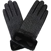 Abbraccia Womens Winter Warm Touch Screen Gloves Fleece Lined Soft Stretchy Mittens for Dressing Driving Biking