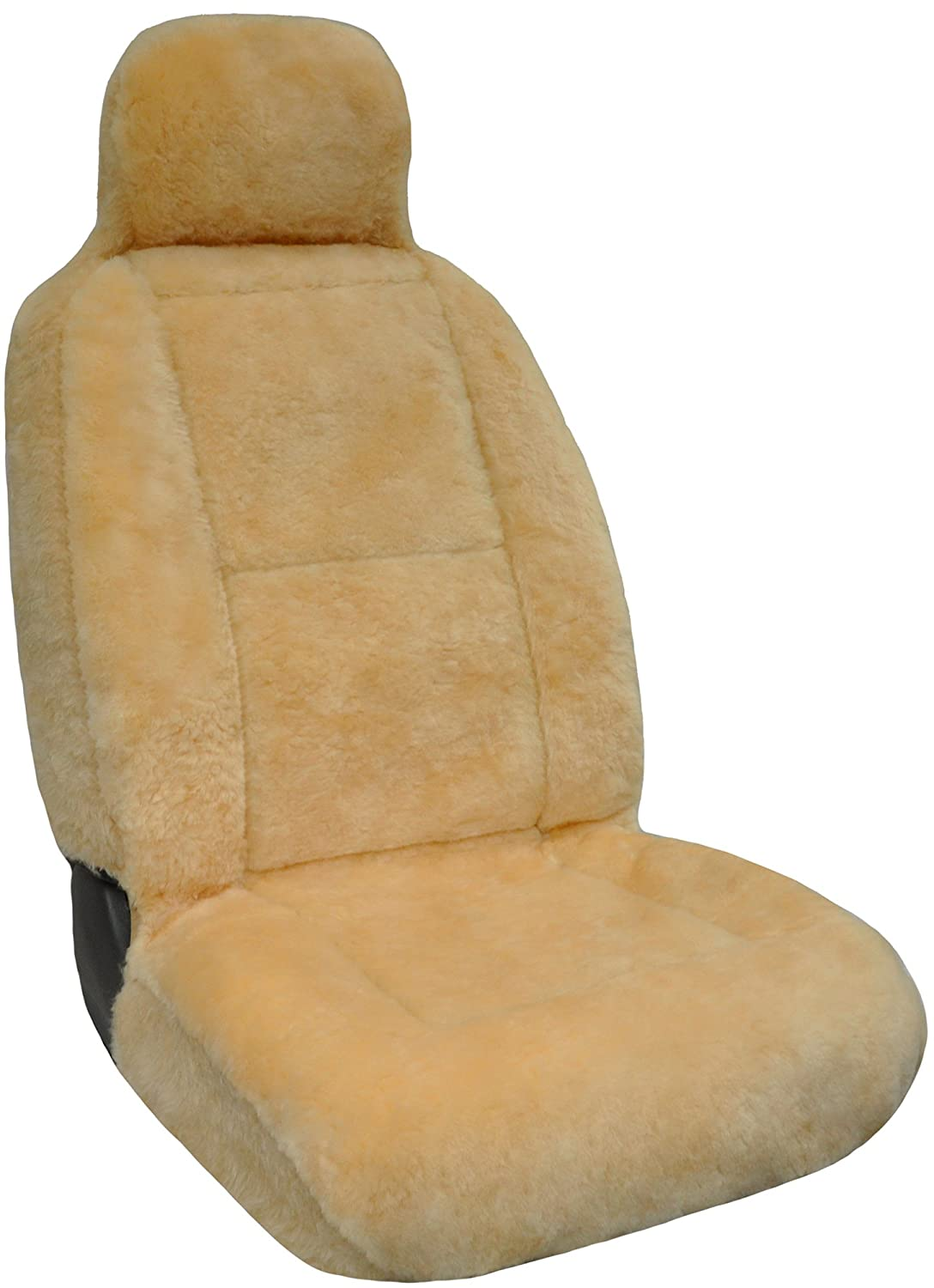 Eurow Luxury Sheepskin Seat Cover XL Design Comfortable Premium Pelt Champagne Eurow /& O/'Reilly Corp.