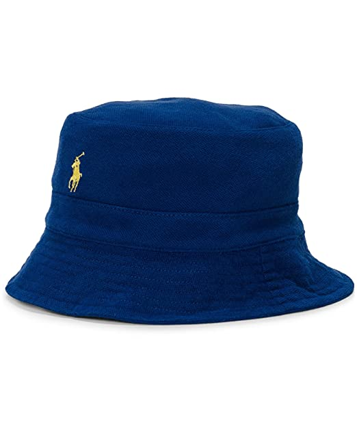 a297bc11a4b Polo Ralph Lauren Men s Cotton Mesh Bucket Hat
