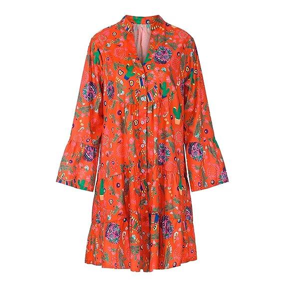 Faldas largas Mujer Verano, ABsolute2019 Nuevo Vestido de Mujer de ...