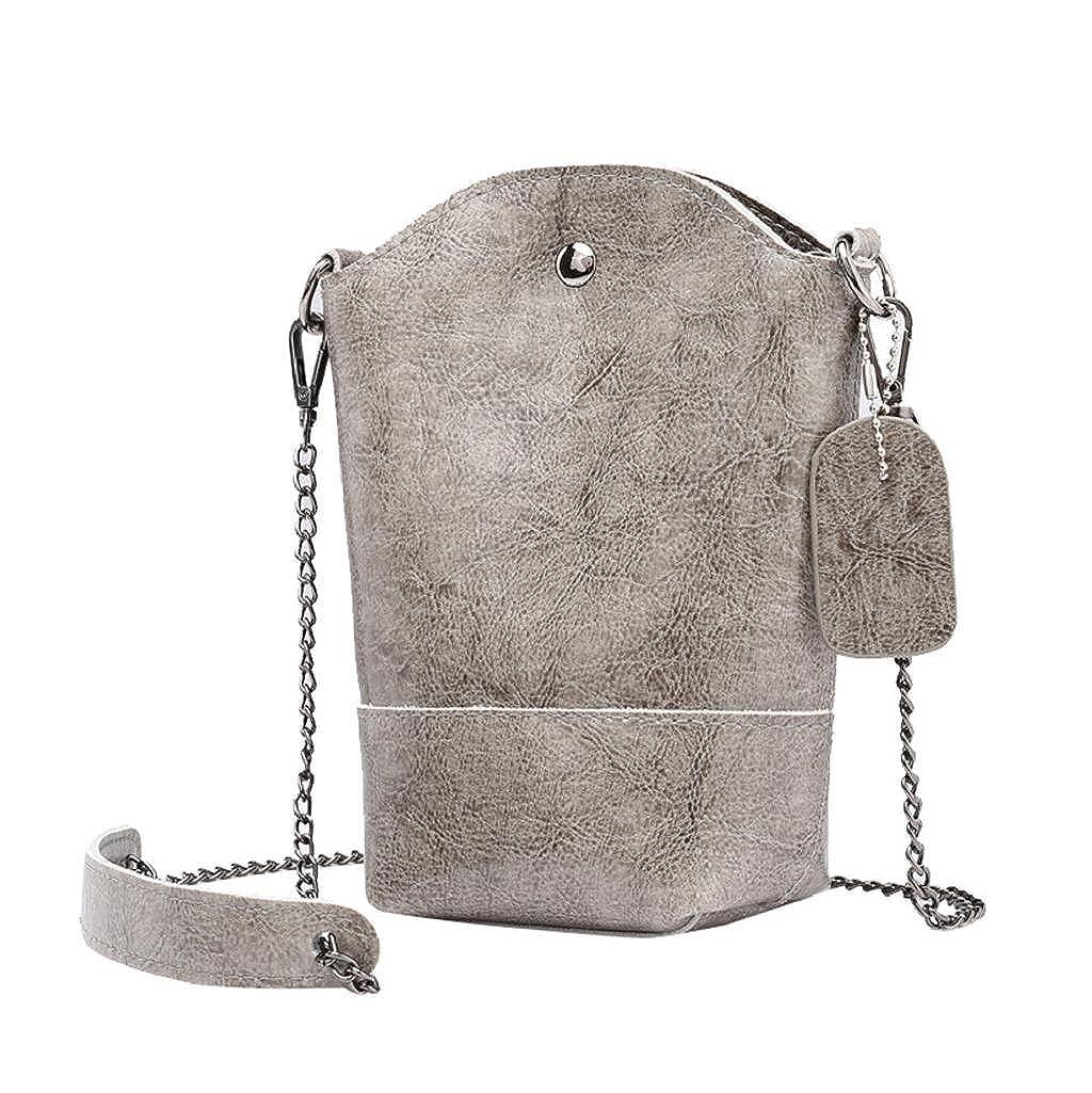 9be4735fc7df9 Rovinci Damen Kurier-Beutel Schlank Umhängetaschen Handtasche aus PU-Leder  Kleine Körper Taschen (Blau Ketten)  Amazon.de  Schuhe   Handtaschen