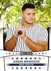 2019 Leaf Baseball #ST-15 Jasson Dominguez Pre-Rookie Card