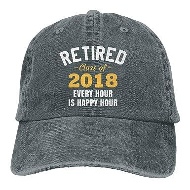 SOTTK Hombre Mujer Gorras de béisbol, Retired 2019-01 Baseball ...